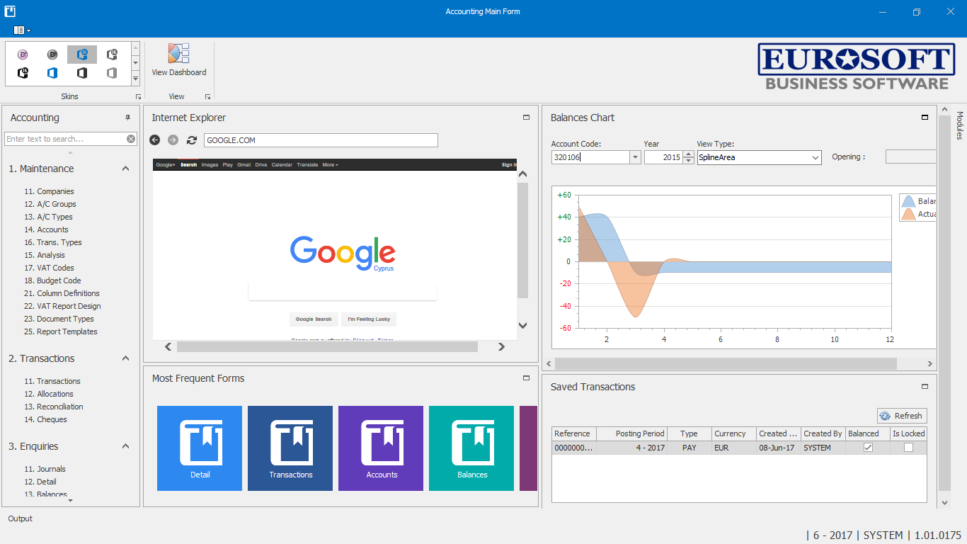 Accounting Dashboard